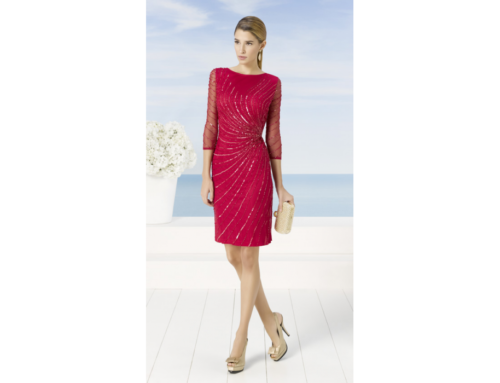 ROBE DE COCKTAIL MODELE 9J227